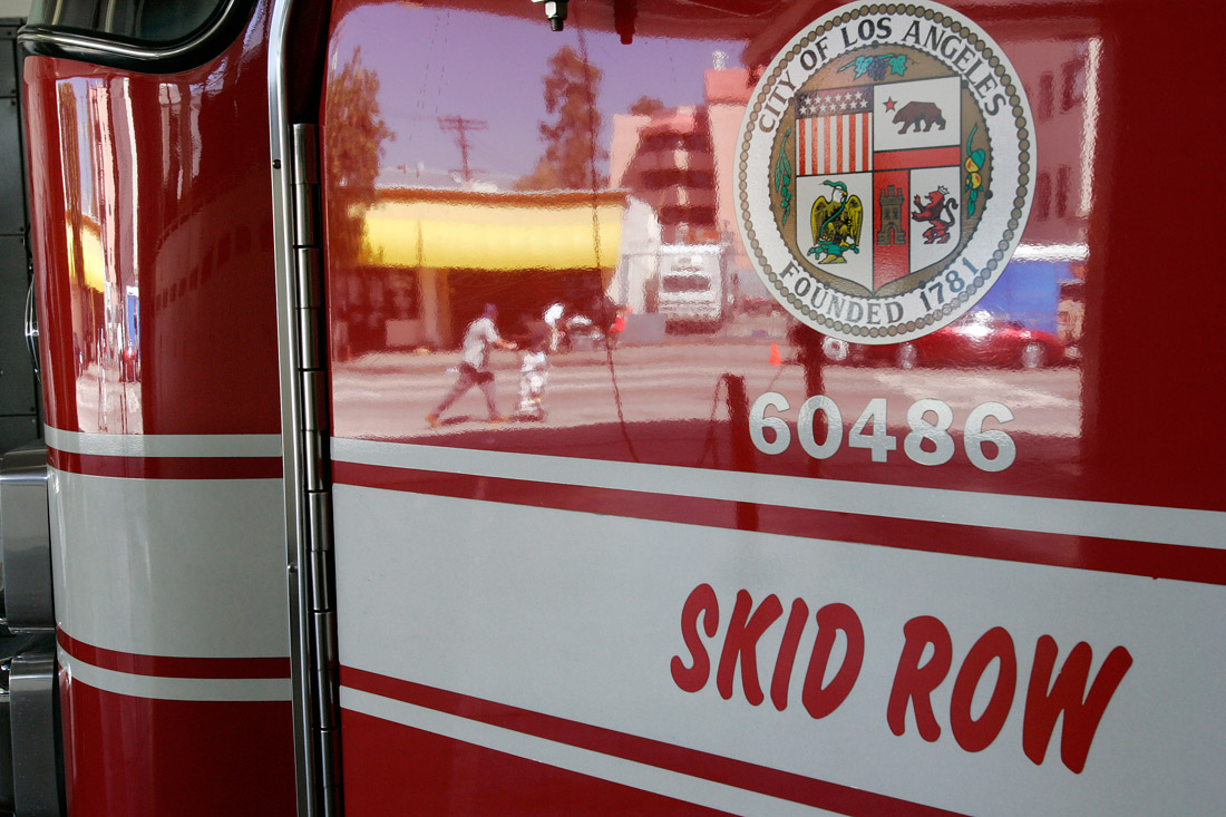 LAFD Station 9 Skid Row