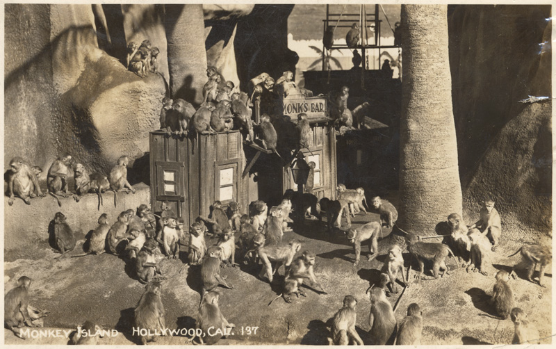 Monkey Island, Hollywood, 1949