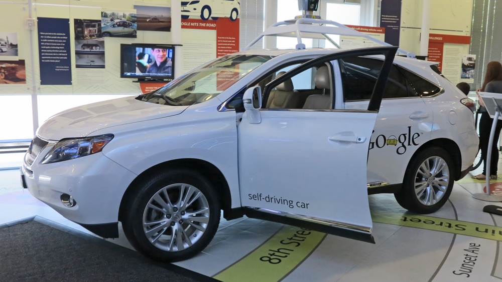 A Google prototype self-driving car | Photo: Pascal Terjan, some rights reserved