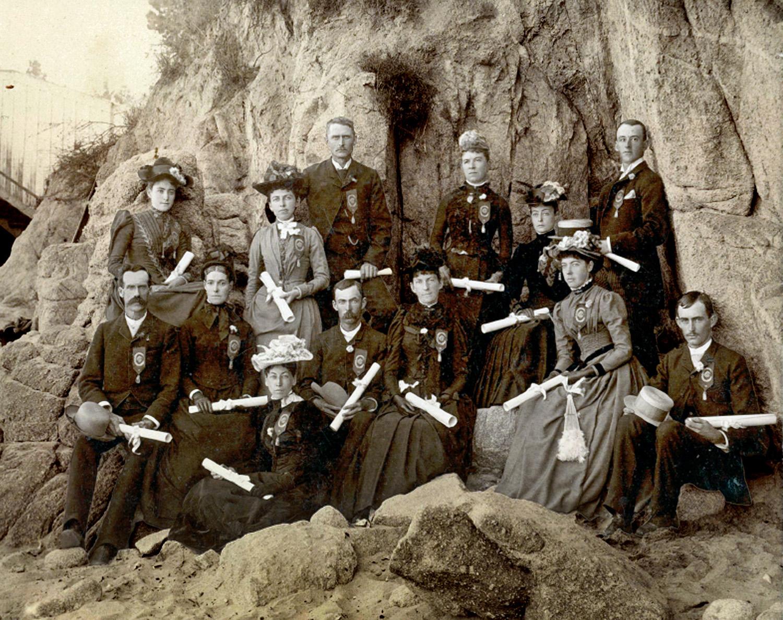 Graduates, 1890