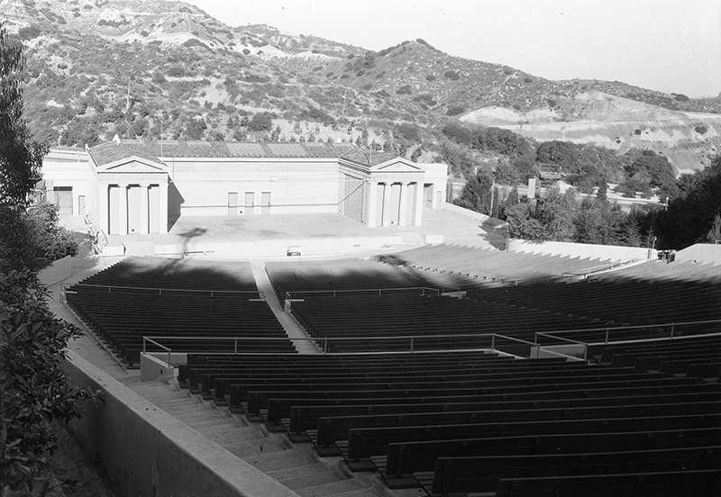 Greek Theater | The California Historical Society Collection at the University of Southern California Library