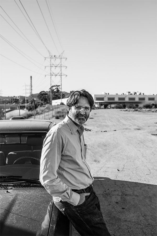Dr. Travis Longcore visits the Bowtie Parcel at the LA River Basin
