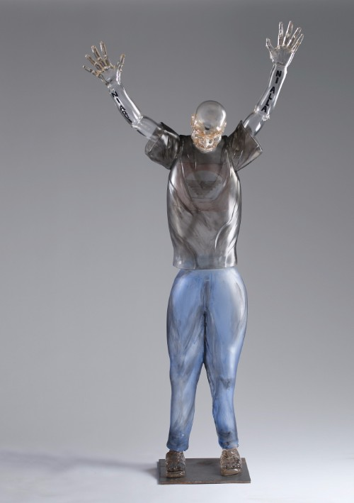 Jaime Guerrero, Farm Worker, 2013. Life-sized glass work | Courtesy of the artist