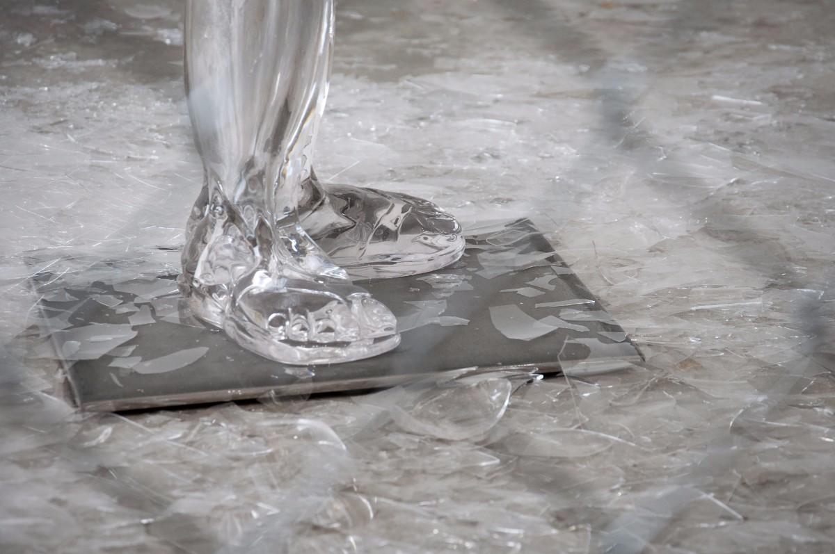 "Detail of ""Broken Dreams"" by Jaime Guerrero | Cesar Corona"