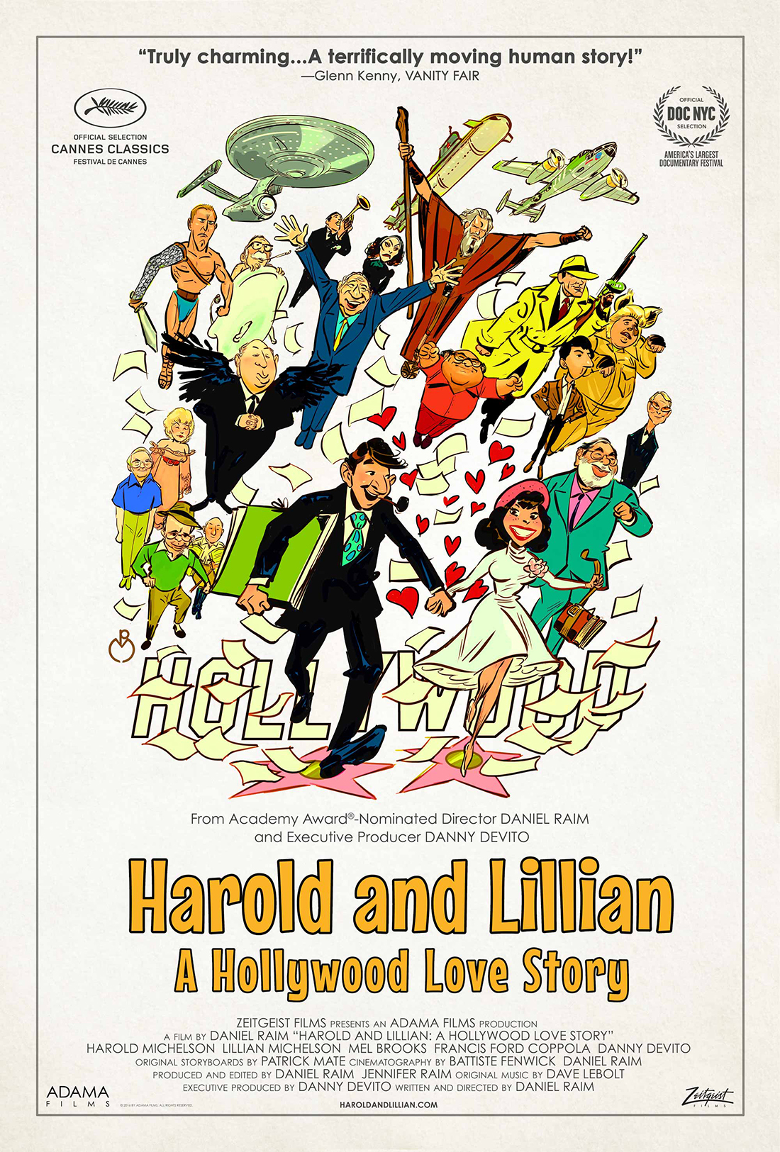 Harold and Lillian film poster | Courtesy of Adama Films/ Zeitgeist Films