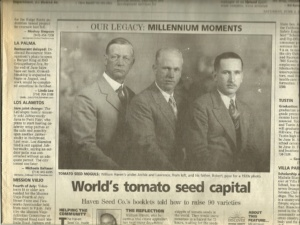 Haven Seed Co Brothers 1920