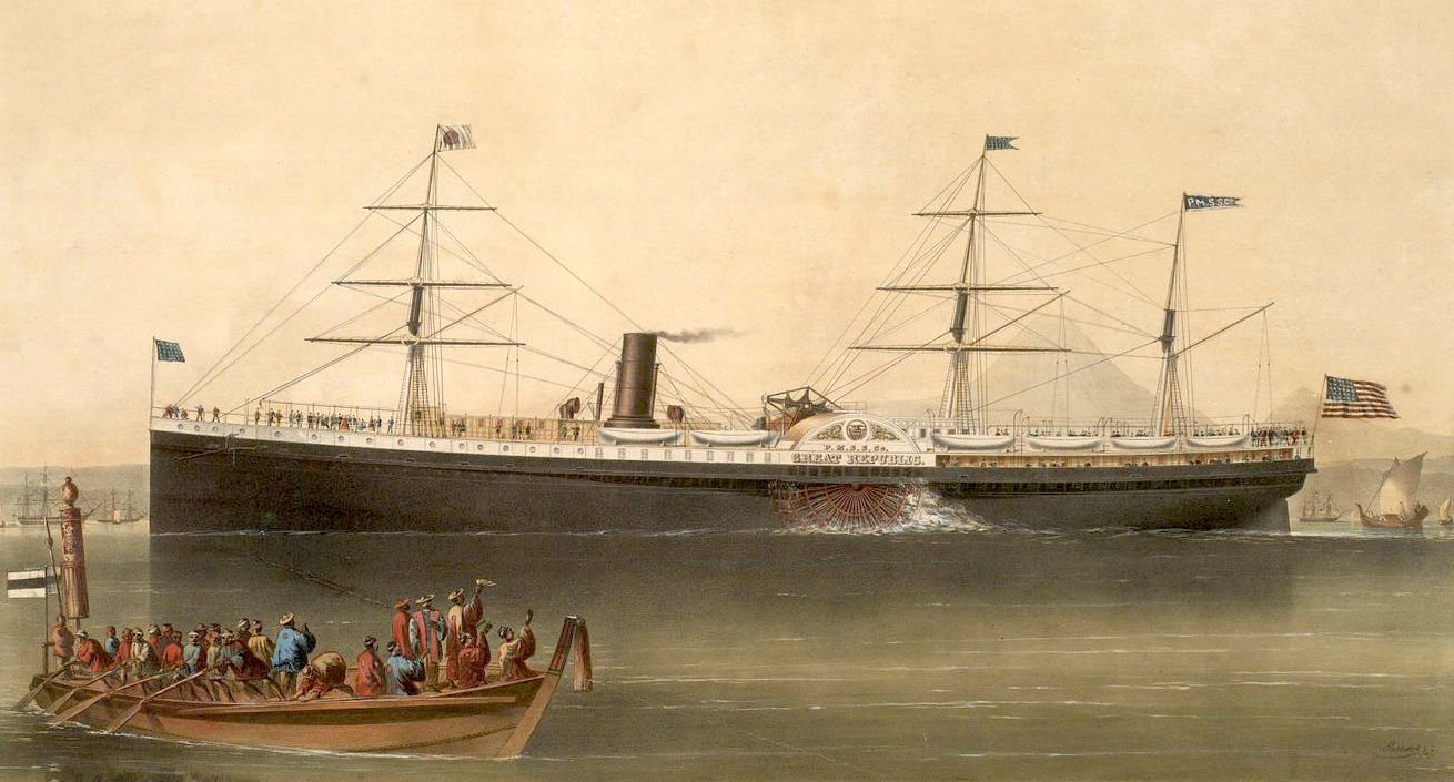 Pacific Mail Steam Ship Company's steamer Great Republic