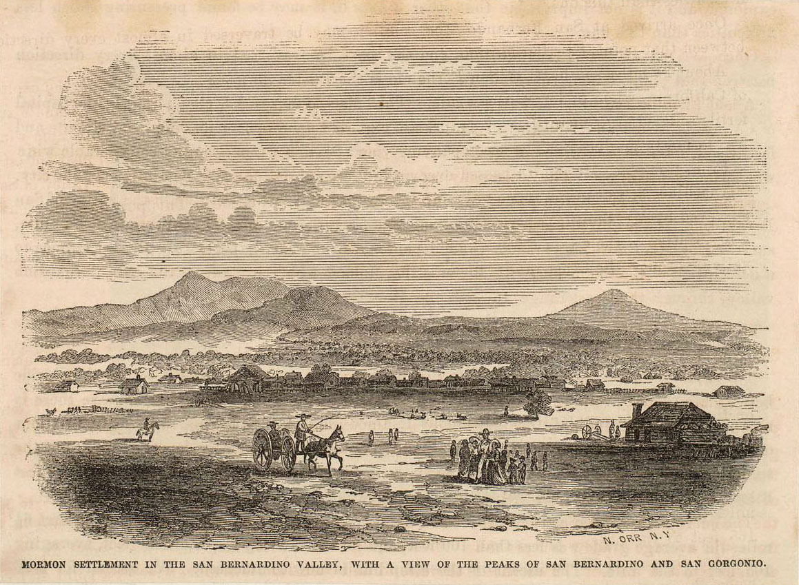 Mormon colony of San Bernardino