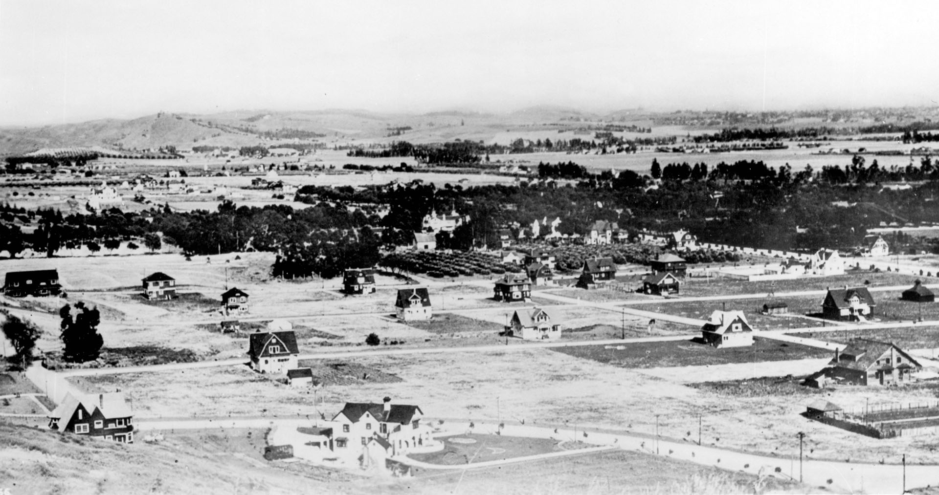 Hollywood in 1906
