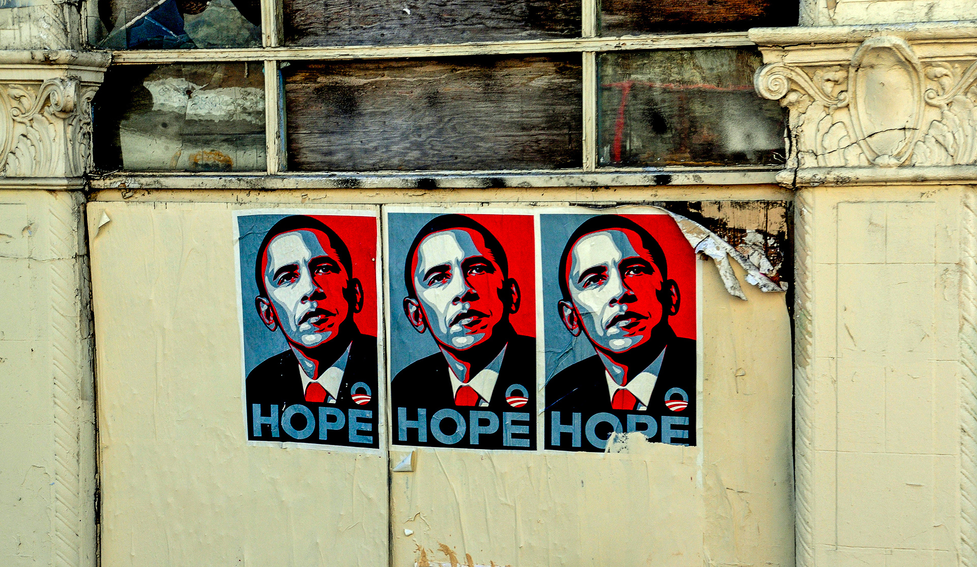 "Barack Obama ""Hope"" Poster. 