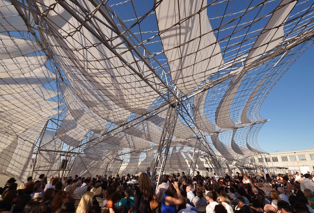 Oyler Wu Sci-Arc Graduation Pavilion