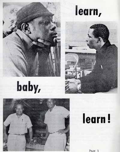 "Operation Bootstrap adopted the slogan ""Learn, Baby, Learn"" 