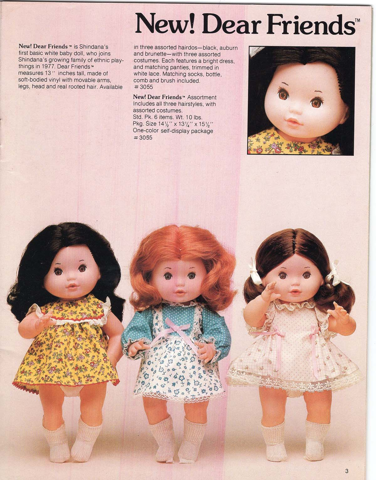 Dear Friends collection from Shindana Toys  | Courtesy of Billie Green