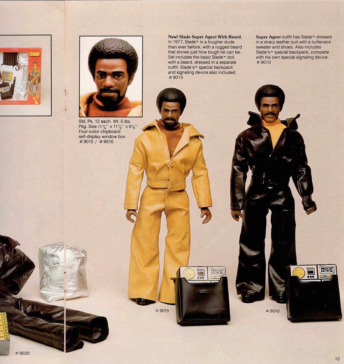 Slade the Super Agent doll from Shindana Toys  | Courtesy of Billie Green