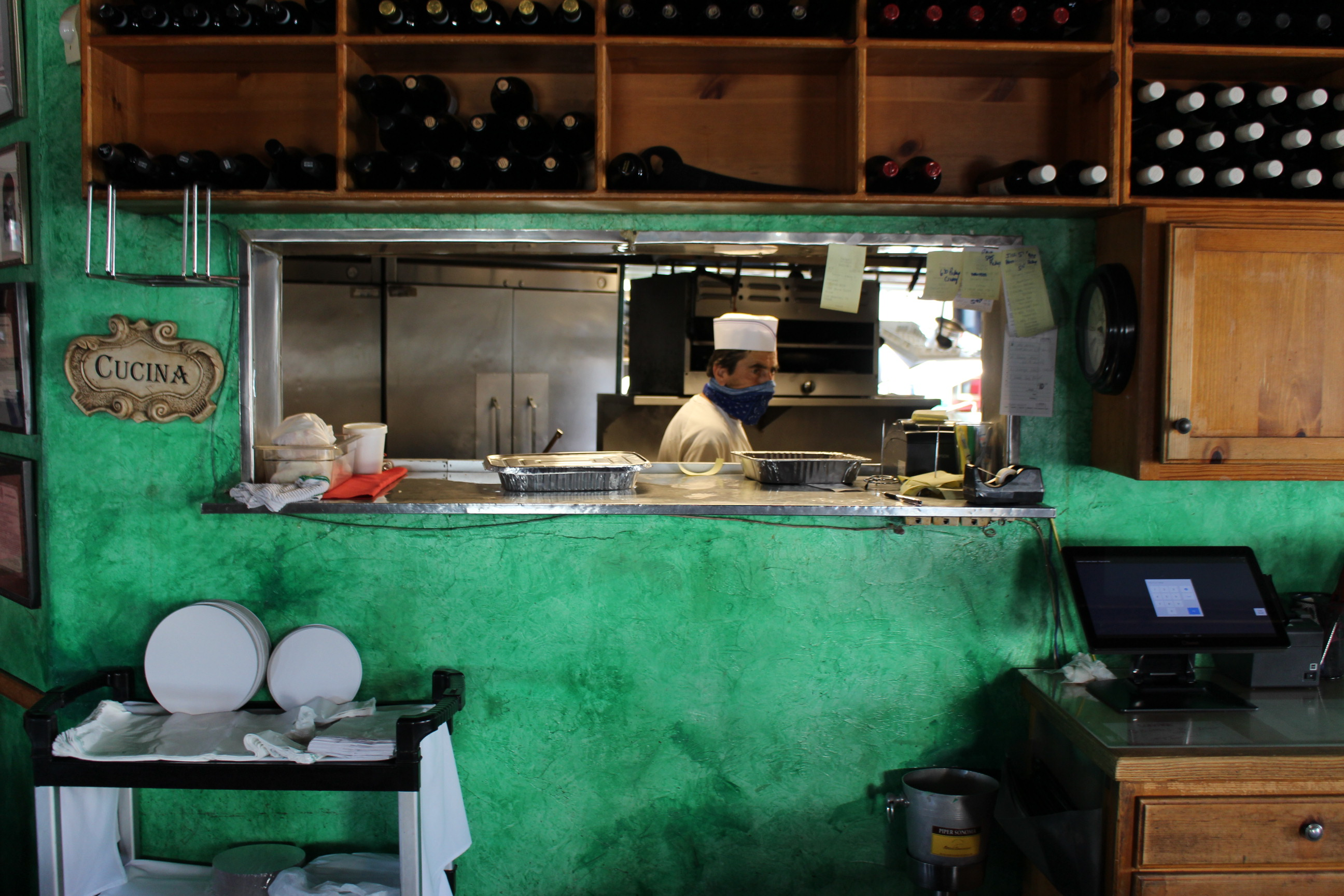 Some of the cooks at Cantalini's Restaurant have been working there since 1962. | Karen Foshay