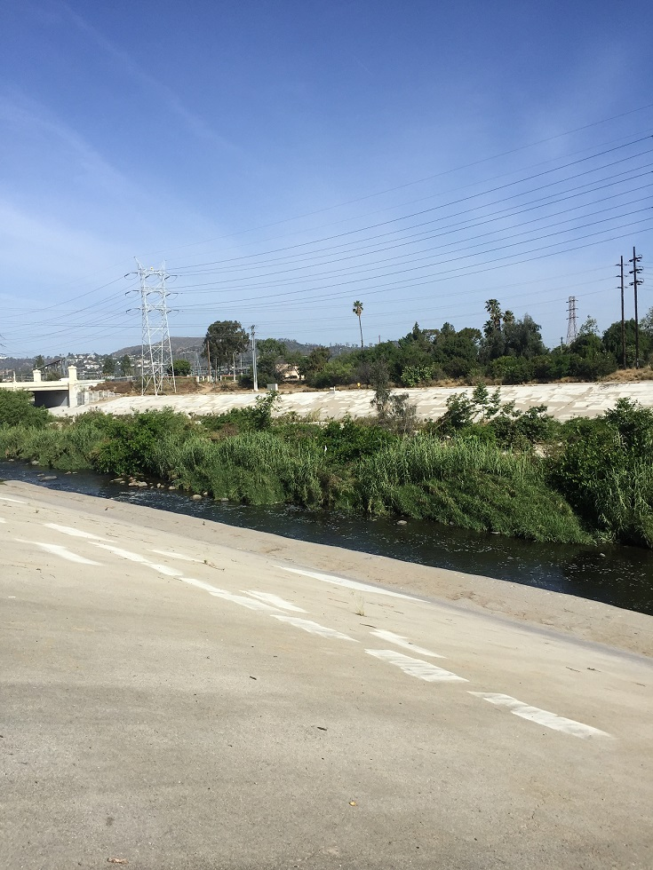 L.A. River: Officer Bike Ride