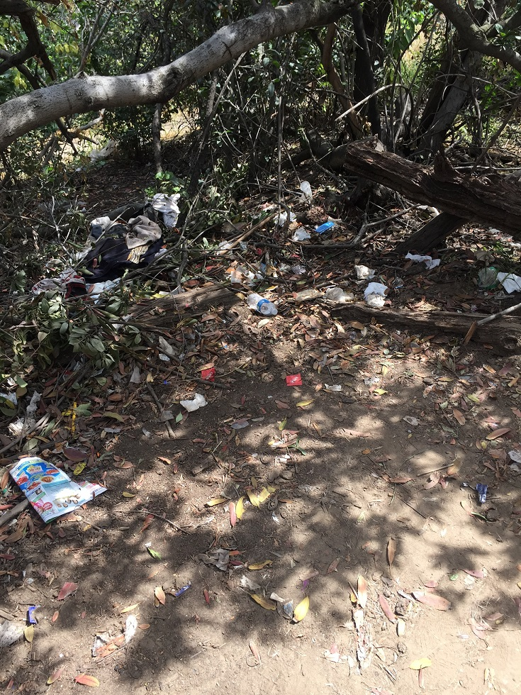 Condoms in Elysian Park: Officer Bike Ride