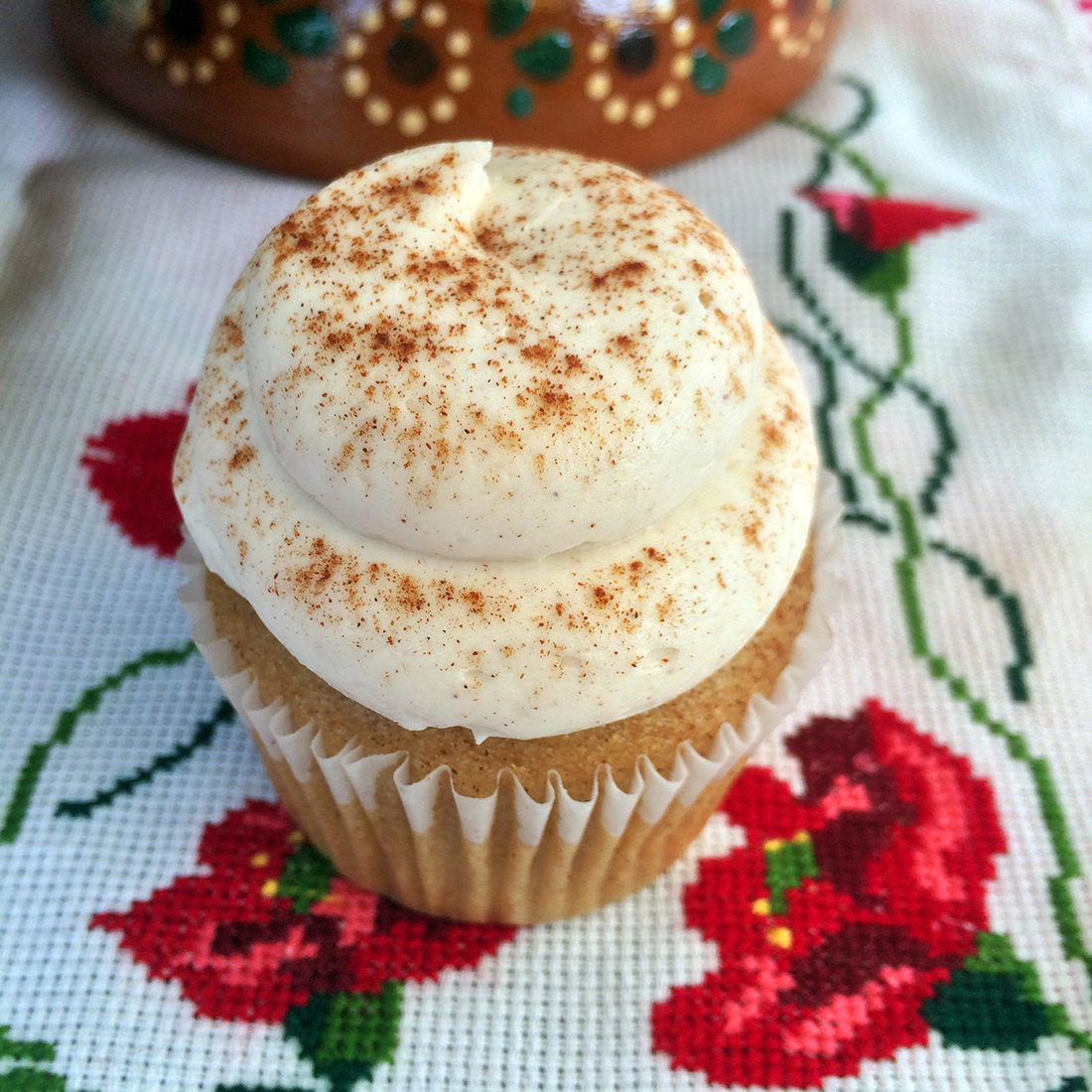 Horchata cupcake | Courtesy of Viva Los Cupcakes