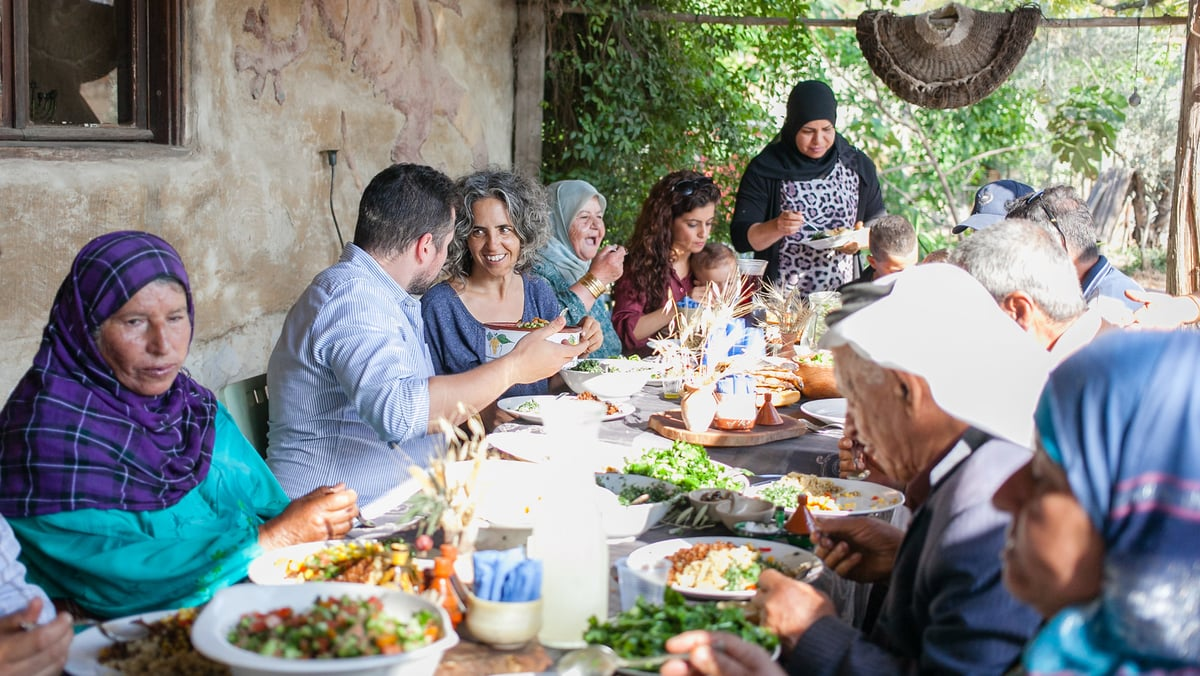 Dining together in Israel | Kyle Hausmann-Stokes