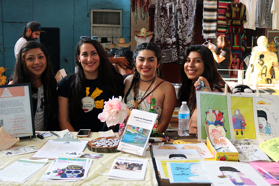 Xicx Zine Collective from Chicago | Samanta Helou Hernandez