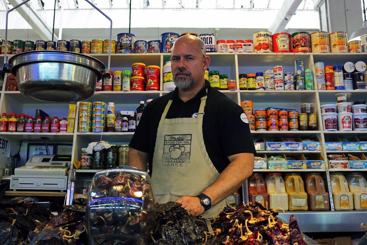 Ruben Yepez of Valeria's Chiles & Spices | Samanta Helou Hernandez Grand Central Market
