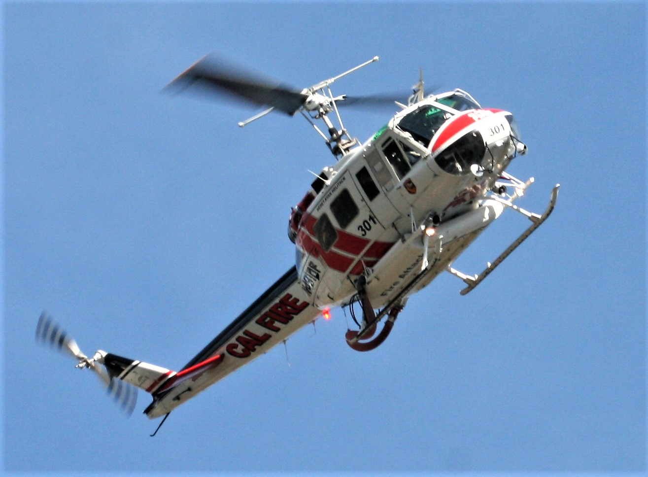 One of CAL FIRE's helicopters. | Courtesy of Cliff Walters