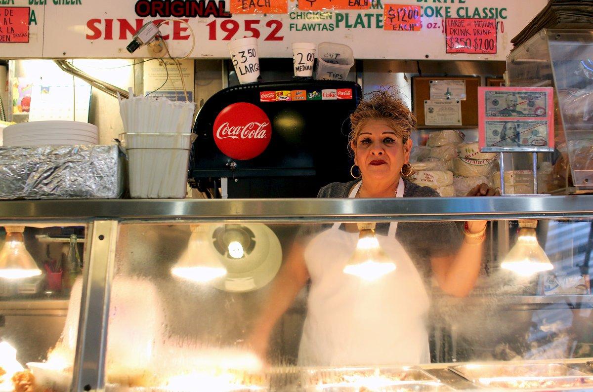 Lourdes Rodriguez of Roast to Go | Samanta Helou Hernandez Grand Central Market