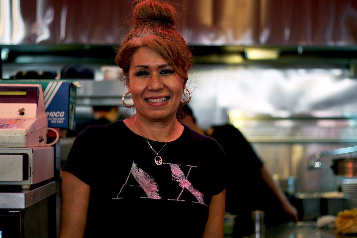 Marta Luna of China Cafe | Samanta Helou Hernandez Grand Central Market
