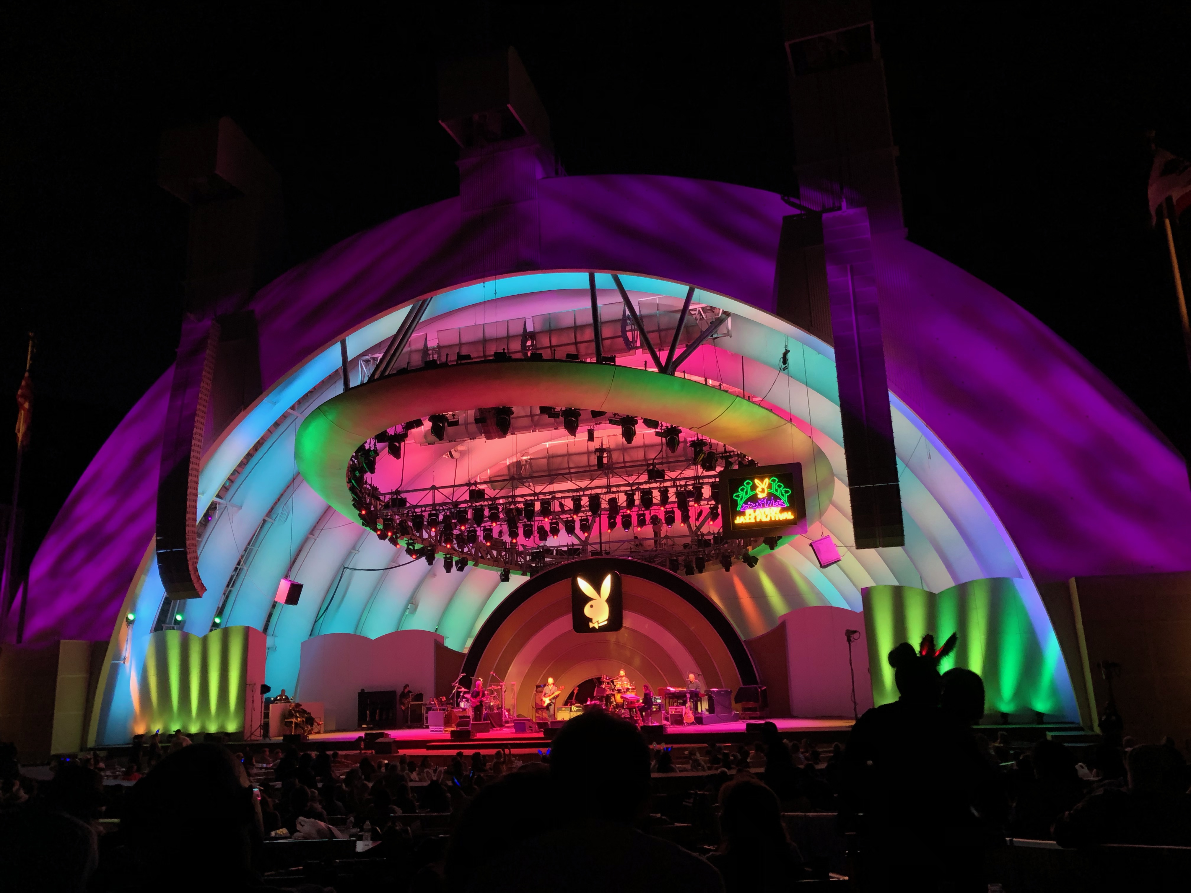 Hollywood Bowl on June 9, 2019 during the Playboy Jazz Festival | Karen Foshay