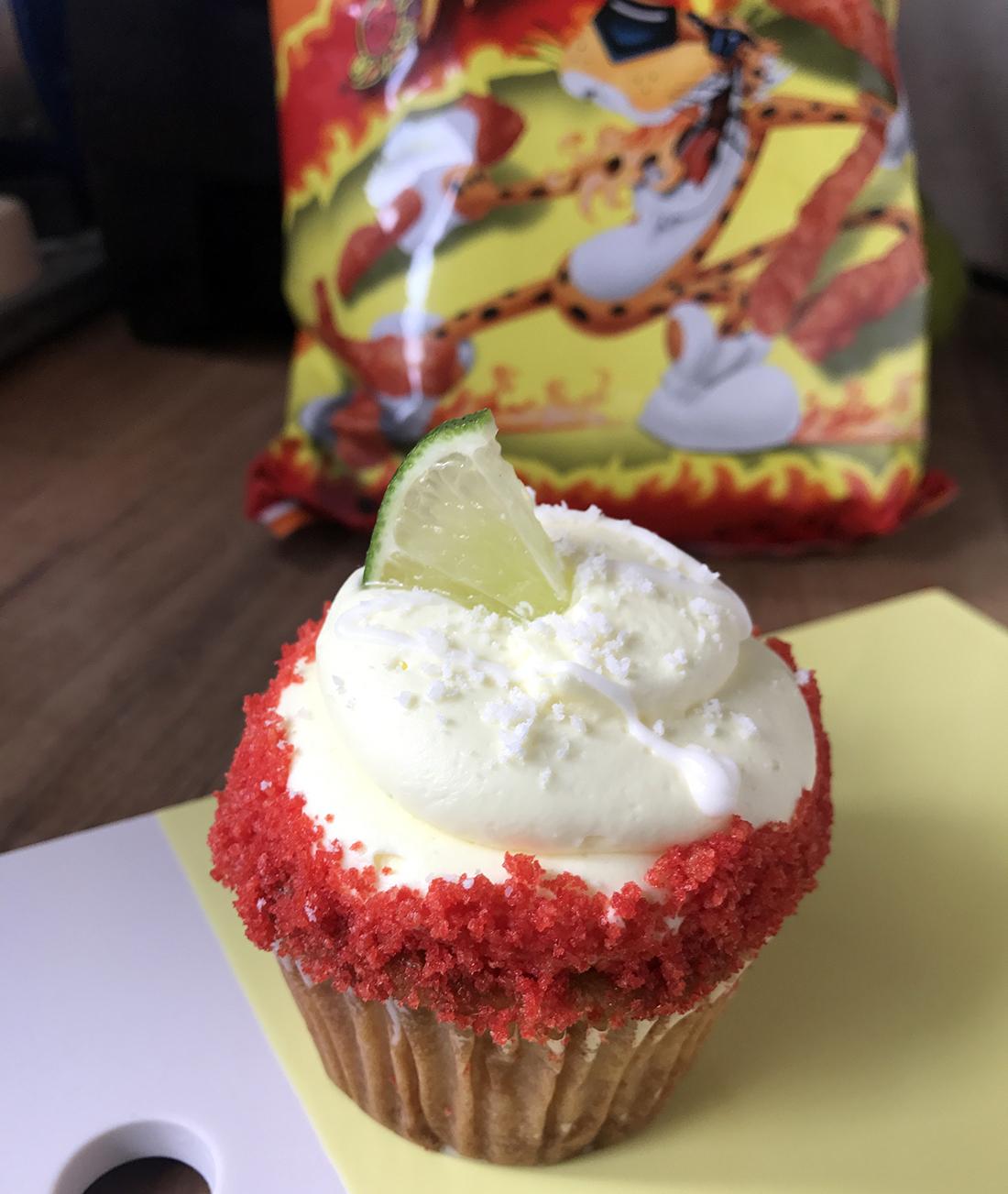 Hot cheeto cupcake | Viva Los Cupcakes