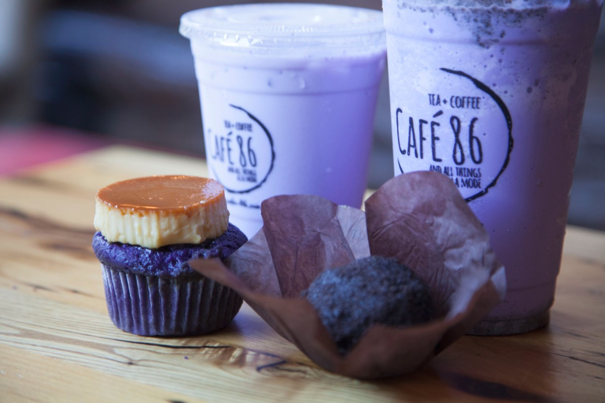 Cafe 86 makes 50 ube-flavored products. | Marnette Federis
