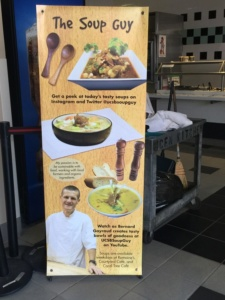 """UCSB """"Soup Guys"""" Banner"""