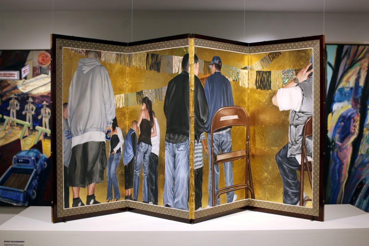 """Highland Park Luau,"" 2006 by Shizu Saldamando | Samanta Helou Hernandez"