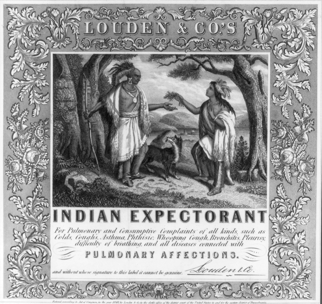 """Louden's Indian Expectorant"" 