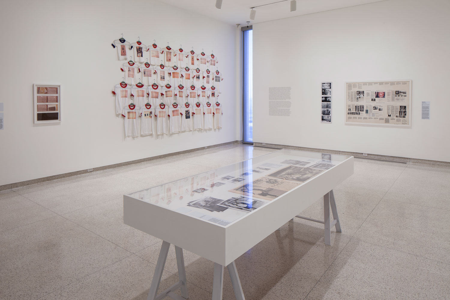 "Installation image of ""The Uses of Photography"" at MCASD"