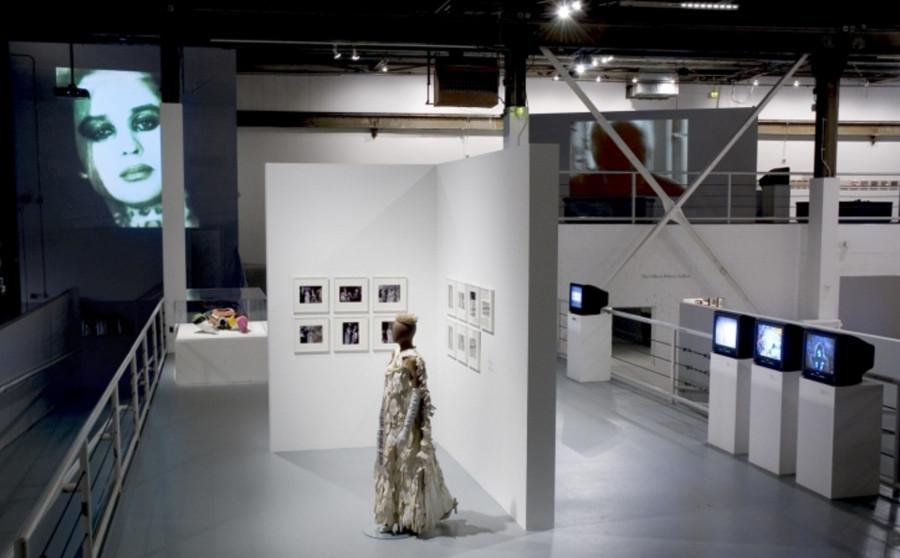 Installation view of WACK at MOCA