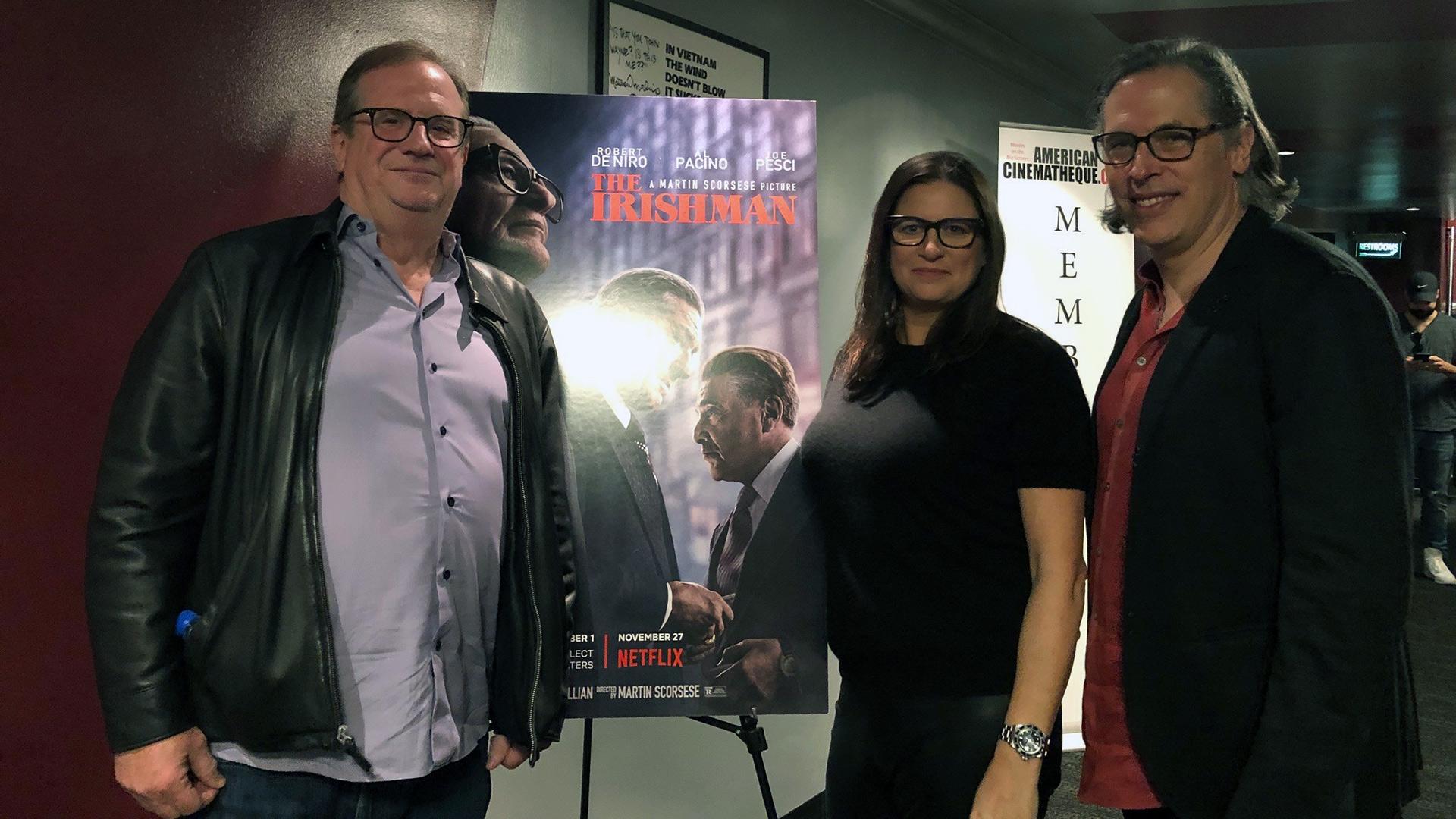 Arrival at the Aero Theatre by Pete Hammond, Emma Tillinger Koskoff and Rodrigo Prieto.