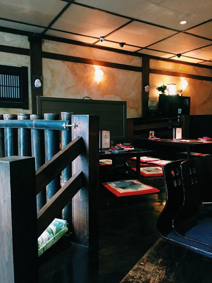 Irori Japanese Restaurant Interior
