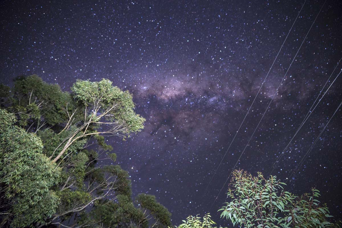 Itamar Freed, Milky Way, 2017 | Courtesy of Litvak Contemporary