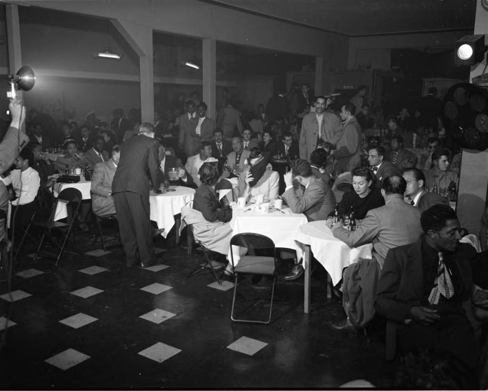 Jack Basket Room, Los Angeles, 1949
