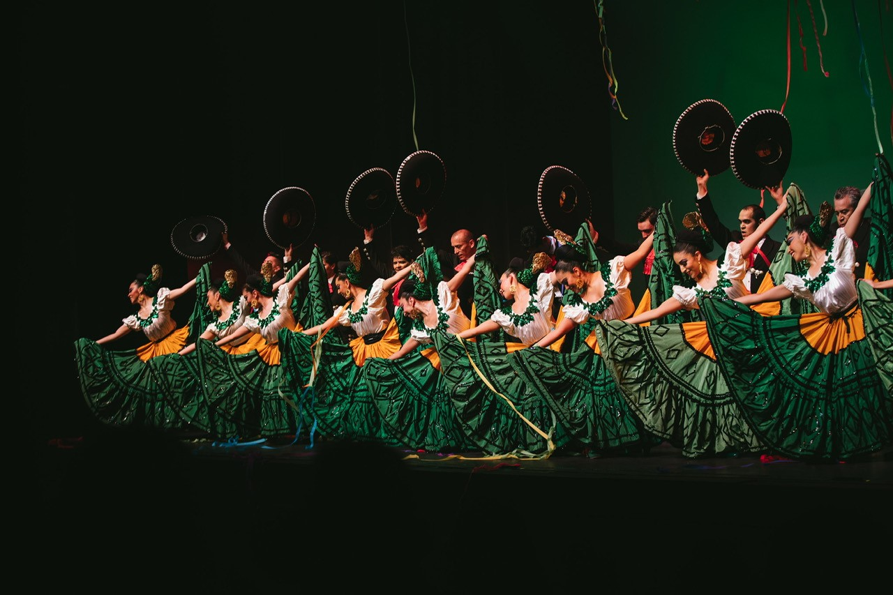 Lively Jalisco dances are performed. This region is famed for the Mexican hat dance, the Mariachi and ornate costumes. | Courtesy of Pacifico Dance Company