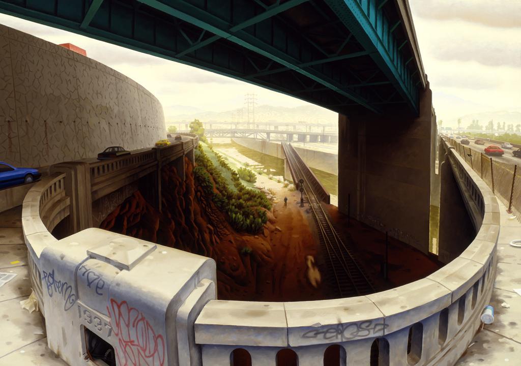 James Doolin: Bridges, 1989 | The Autry Museum of the American West