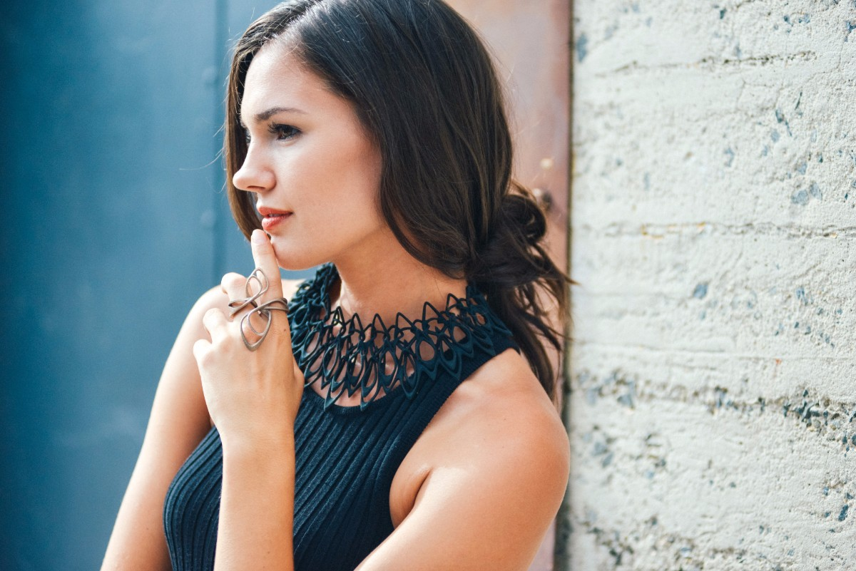 LACE necklace | Caleb Kuhl