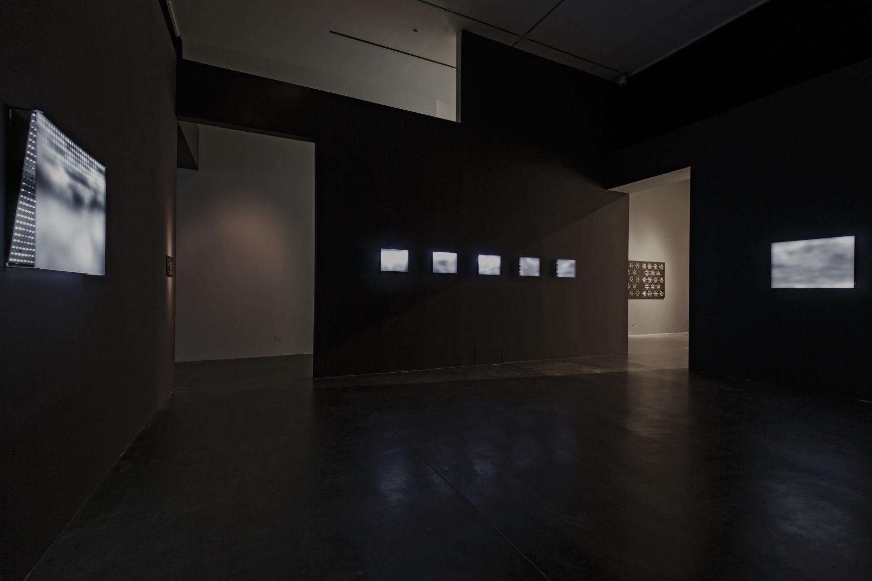 "Jim Campbell, ""Wave Studies,"" 2002-2005"