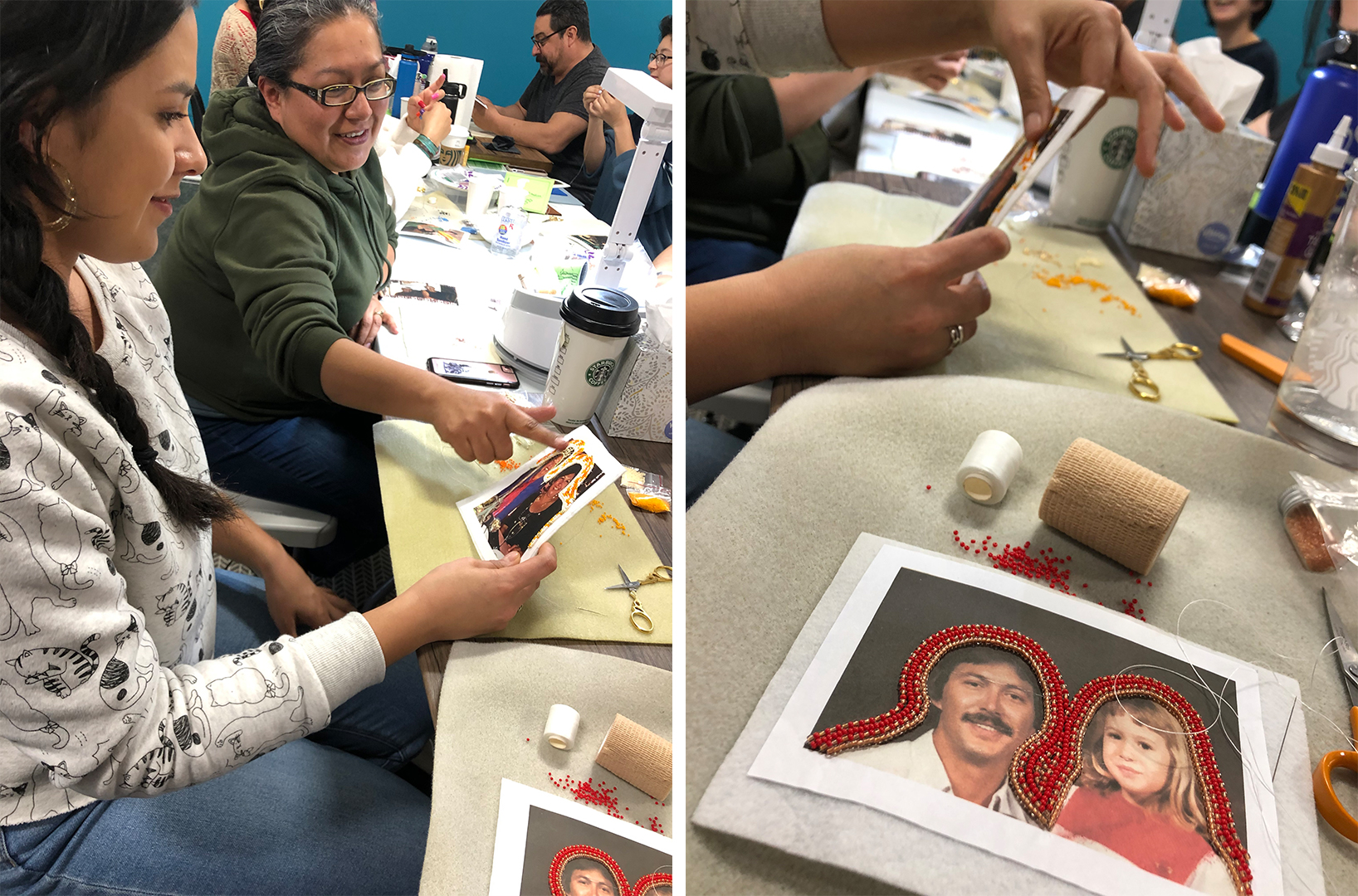 A workshop with Meztli Projects, which just launched IndigenARTS & Wellness | Joel Garcia
