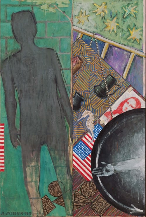 Jasper Johns, Summer, 1985. Encaustic on canvas. 190.5 x 127 cm. Museum of Modern Art, New York Art © Jasper Johns/Licensed