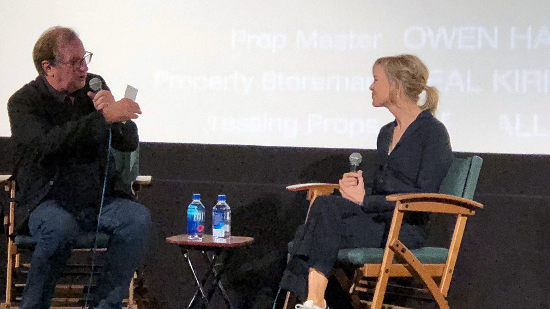 Post screening Q&A with Pete Hammond and Renee Zellweger