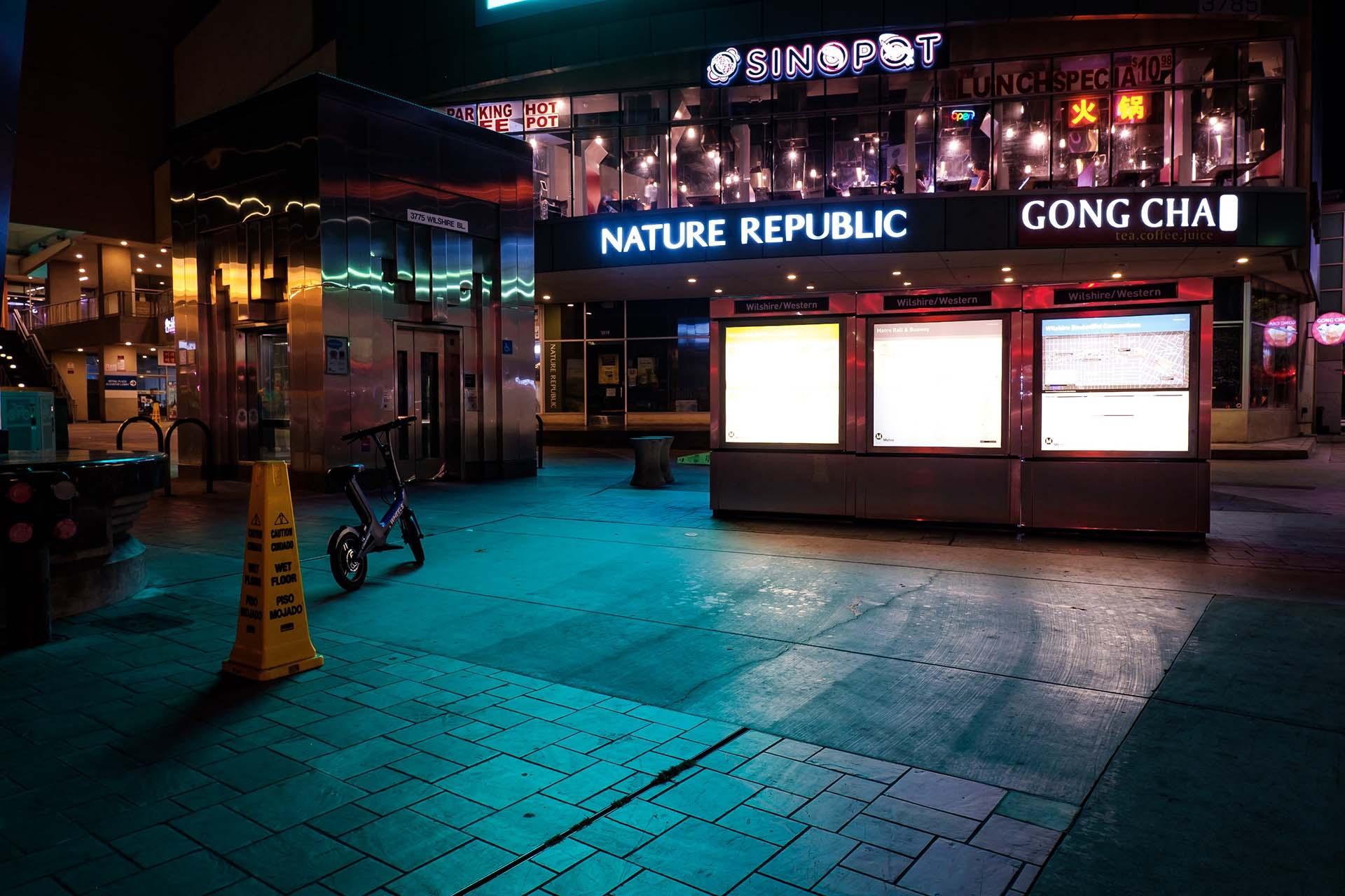 Corner of Wilshire and Western, Koreatown 2019. | Kwasi Boyd-Bouldin
