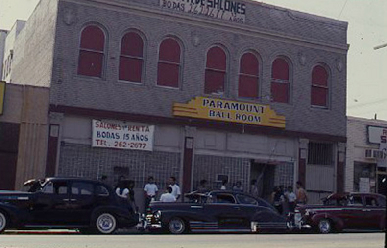 The Paramount Ballroom, 1983. | Courtesy of the Ruben Guevara Records and Papers [ca. 1970-2004] from the UCLA Chicano Studies Research Center