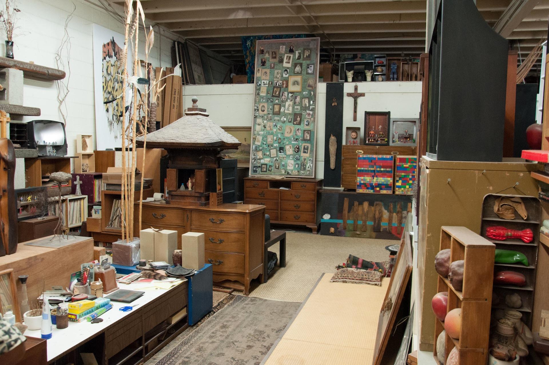 Kenzi Shiokava's studio. | Photo: Kenya Davis-Hayes